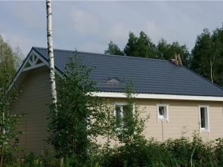 Строительство каркасно-щитового дома по проекту ДД 011 в д. Соловьевка, в комплектации «Под ключ»