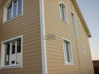 Каркасный дом по проекту КД 024 в КП «Долина Уюта»