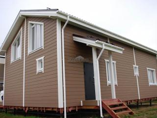 Каркасный дом по проекту КД 036 в КП «Балтийская Слобода 2»
