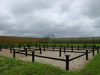 Свайное поле каркасного дома по проекту КД 036 в КП «Балтийская Слобода 2»