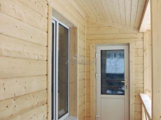 Каркасный дом по проекту КД 001 в комплектации «Теплый контур», д. Васкелово