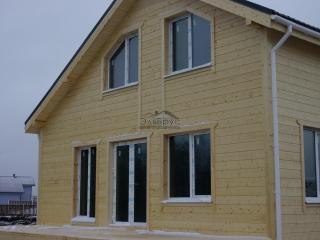 Каркасный дом по проекту КД-004 в КП «Любовино», в комплектации «Закрытый контур»
