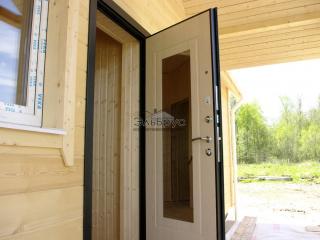 Каркасно-щитовой дом по проекту ДД 004 в СНТ «Липки», в комплектации «Под ключ»