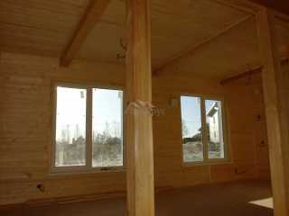 Каркасный дом по проекту КД 004 в ДПК Новые Ольшаники, в комплектации «С отделкой + инженерный пакет»