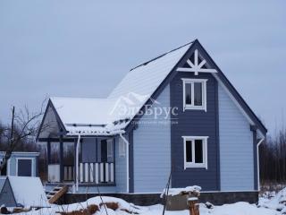 Каркасный дом по проекту ДД 004 в комплектации «С отделкой + Инженерный пакет», в д. Михайловское, Демидовского района, Смоленской области