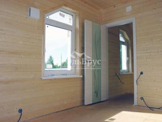 Каркасный дом по проекту КД 006 с террасой в комплектации «С отделкой + Инженерный пакет», в СНТ «Ленинец»