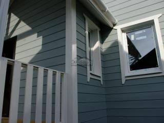 Каркасный дом по проекту КД 006 д. Владимировка в комплектации «Закрытый контур»