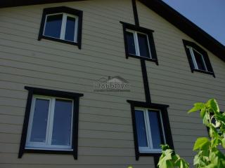 Каркасный дом по проекту КД-012 в СНТ «Торфяник» в комплектации «С отделкой»