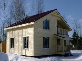 Cтроительство каркасного дома по проекту КД 012 в массиве Строганово