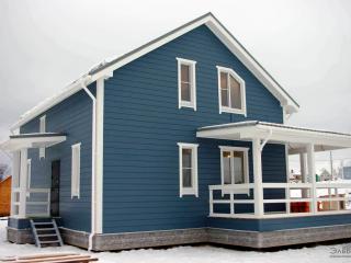 Каркасный дом по проекту КД-017 в КП «Сосновские Озера» в комплектации «Под ключ»