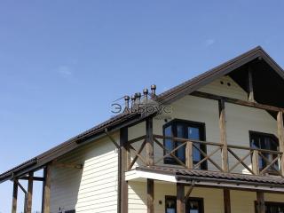 Каркасный дом по проекту КД-020 в п. Овсяное