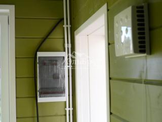Внутренняя отделка в каркасном доме по проекту КД 021 в ДНТ «Верховский»