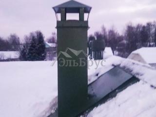 Cтроительство каркасного дома по проекту КД 021 в д. Мыза-Ивановка