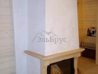 Cтроительство каркасного дома по проекту КД 021 в д. Мыза-Ивановка - Печь-камин