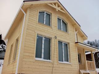 Строительство каркасного дома по проекту КД 023 в д. Порошкино, СНТ «Березка», в комплектации «Закрытый контур»