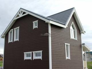 Строительство каркасного дома по проекту КД 024 в КП Балтийская Слобода-2