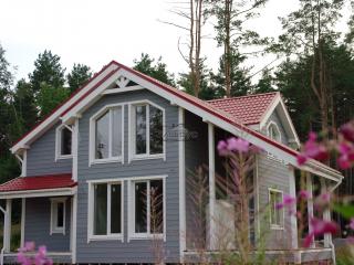 Строительство каркасного дома по проекту КД-024