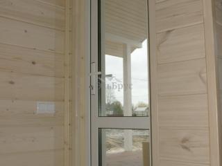 Каркасный дом по проекту КД 024 в д. Ягодное