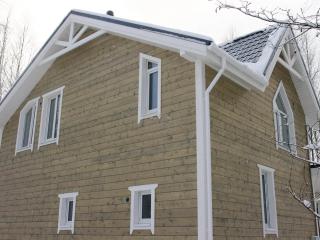 Строительство каркасного дома по проекту КД 029 в СНТ «Фауна», в комплектации «С отделкой + инженерный пакет»