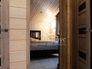Внутренняя отделка в каркасном доме по проекту КД 029, в СНТ «Фауна»