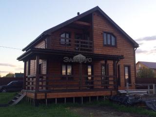 Готовый каркасный дом по проекту КД 033