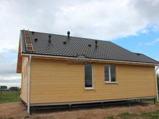 Каркасный дом по проекту КД 035 в д. Дуброво, в комплектации «Под ключ»