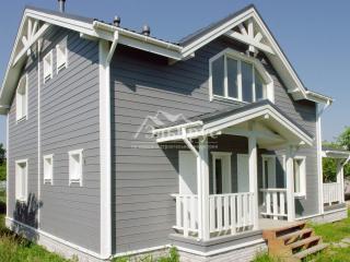 Каркасный дом по проекту КД 050 в пос. Сусанино, в комплектации «С отделкой + Инженерный пакет»