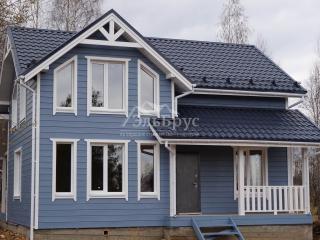 Каркасный дом по проекту КД 052 в д. Щеченки