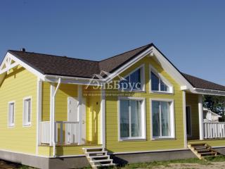 Каркасный дом по проекту КД 054 в комплектации «С отделкой + инженерный пакет», в КП «Сосновские Озера 2»