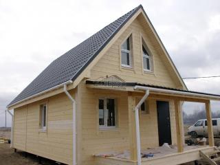 Каркасный дом по проекту КД-027 в КП «Елагино»