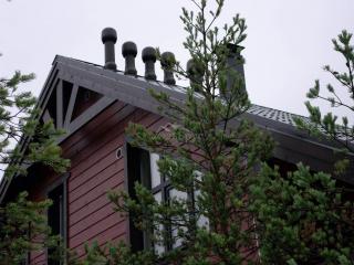Строительство каркасного дома по проекту КД 057 в СНТ «КЭТ» - Вентиляционные выходы Vilpe (Финляндия)
