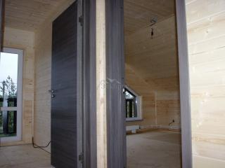 Внутренняя отделка каркасного дома по проекту КД 057 в СНТ «КЭТ»