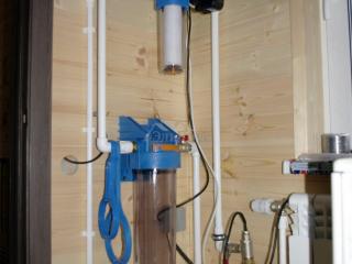 Монтаж системы отопления, проект КД 057 в СНТ «КЭТ» - Джилекс Краб 50 (система автоматики водоснабжения)