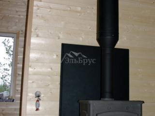 Монтаж системы отопления, проект КД 057 в СНТ «КЭТ» - Печь-камин Ferlux Magma