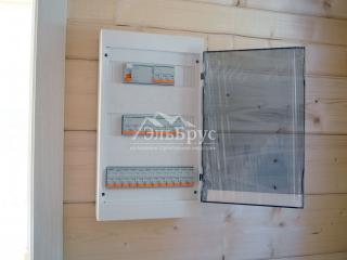 Инженерия в каркасном доме по проекту КД 001 в д. Раздолье