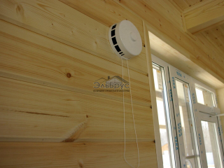 Вентиляция - Каркасный дом по проекту КД-020 в п. Овсяное
