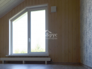 Инженерия в каркасном доме по проекту КД 046 в пос. Ексолово, ДНП «Дружное»