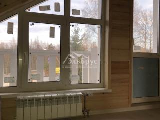 Инженерия в каркасном доме по проекту КД 057 в  СНТ Аист