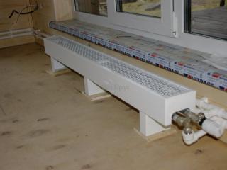 Монтаж системы отопления, проект КД 057 в СНТ «КЭТ» - Радиаторы Коралл