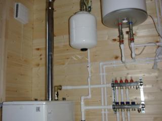 Монтаж системы отопления, проект КД 057 в СНТ «КЭТ» - Котельная