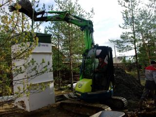 Инженерное обеспечение каркасного дома по проекту Шале 004 в СНТ «КЭТ»
