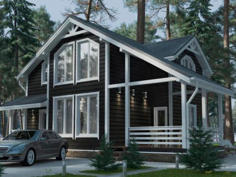 Дом из пеноблоков под ключ, построить дом из пеноблоков