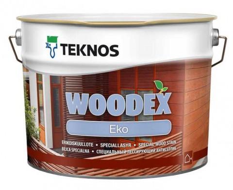 Лессирующий антисептик Teknos WOODEX Eko