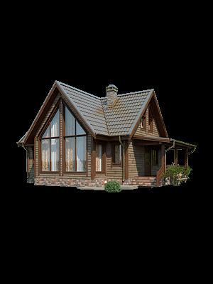 Каркасный дом - проект КД 027