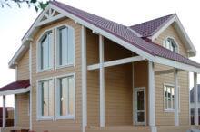Строительство каркасного дома по проекту КД 024 в КП «Долина Уюта»