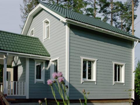 Строительство каркасного дома по проекту КД 006 д. Владимировка