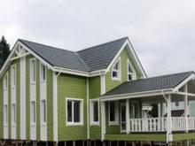 Каркасный дом по проекту КД 021 в ДНТ «Верховский», в комплектации «Закрытый контур»