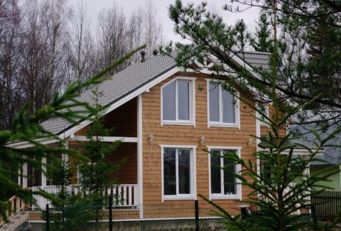 Строительство каркасного дома по проекту КД 029 в СНТ «Фауна»