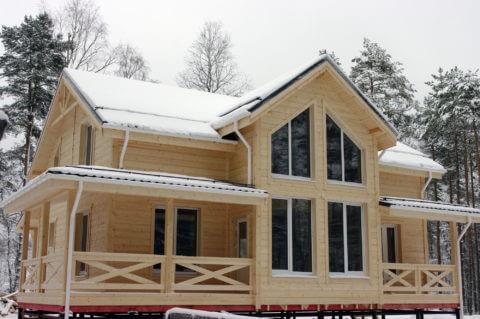 Строительство каркасного дома по проекту КД 001, д. Васкелово