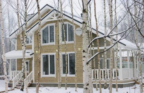 Каркасный дом по проекту КД 029 в СНТ «Фауна», в комплектации «С отделкой + инженерный пакет»